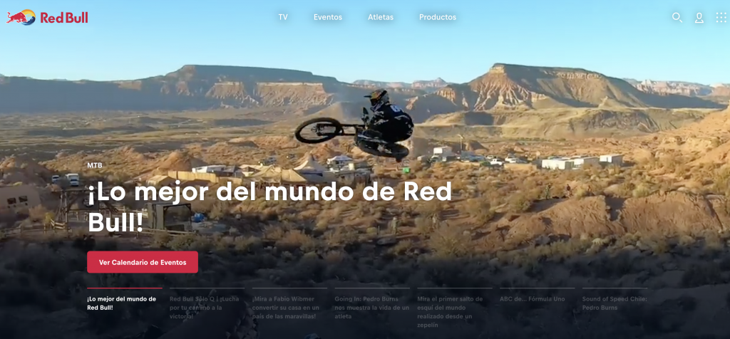 Red bull-marketing de contenidos